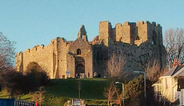The picture you see is of Oystermouth Castle,