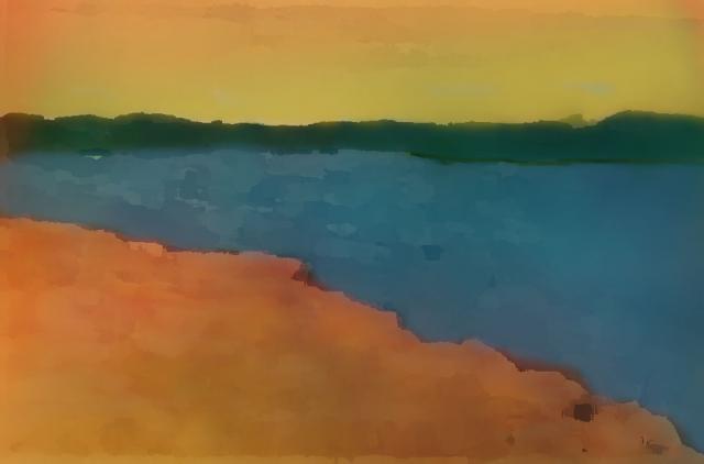 Imaginary Landscape II (it's not all sturm und drang)